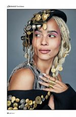 ZOE KRAVITZ in Glamour Magazine, South Africa March 2018