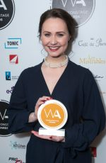 ZOE RAINEY at Whatsonstage Awards in London 02/25/2018
