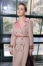 ZOEY DEUTCH at Tory Burch Fashion Show at New York Fashion Week 02/09/2018