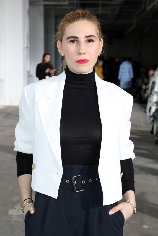 ZOSIA MAMET at 3.1 Phillip Lim Show at New York Fashion Week 02/12/2018