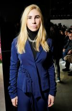 ZOSIA MAMET at Jason Wu Fashion Show at NYFW in New York 02/09/2018