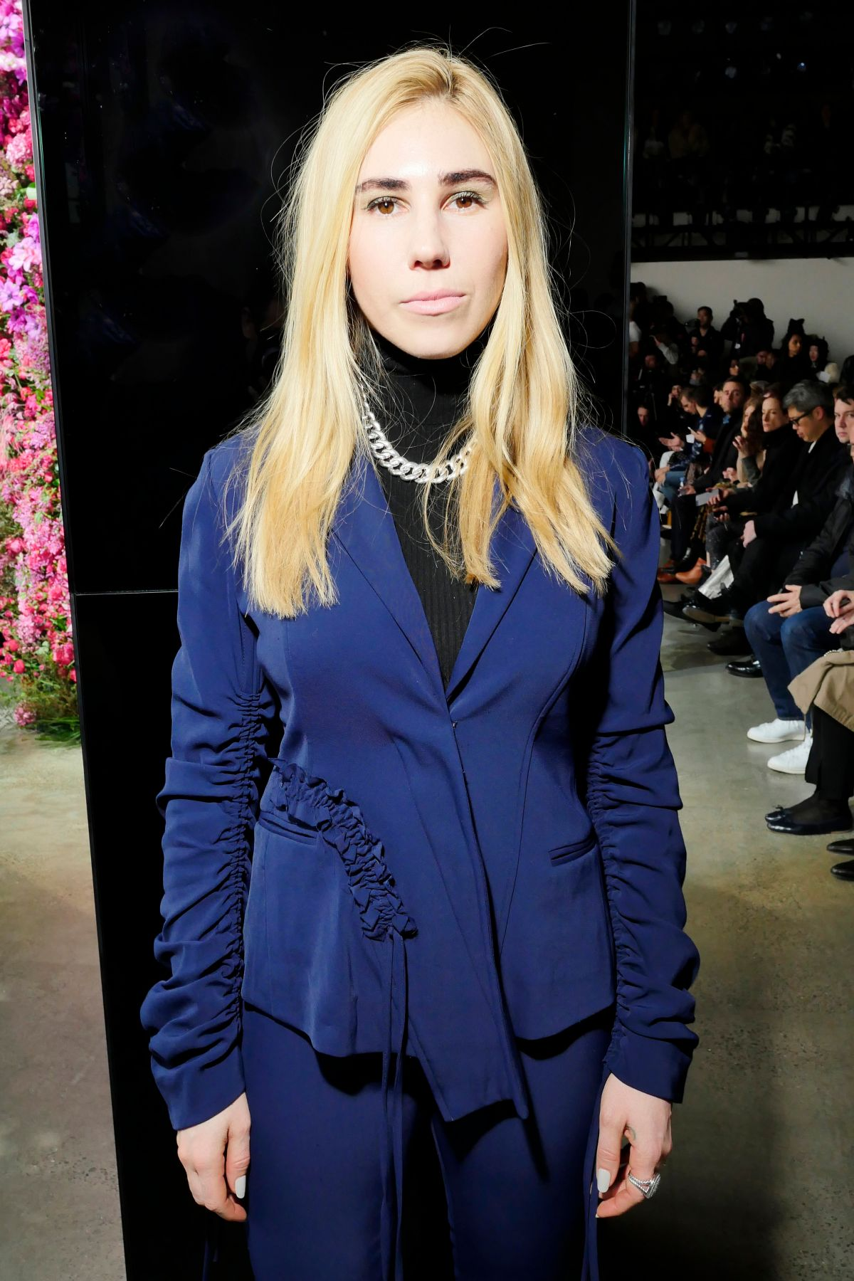 ZOSIA MAMET at Jason Wu Fashion Show at NYFW in New York ...
