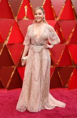 ABBIE CORNISH at 90th Annual Academy Awards in Hollywood 03/04/2018