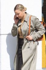 ABBIE CORNISH Out and About in Beverly Hills 03/09/2018