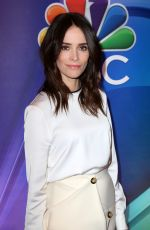 ABIGAIL SPENCER at NBC Midseason Press Junket in New York 03/08/2018
