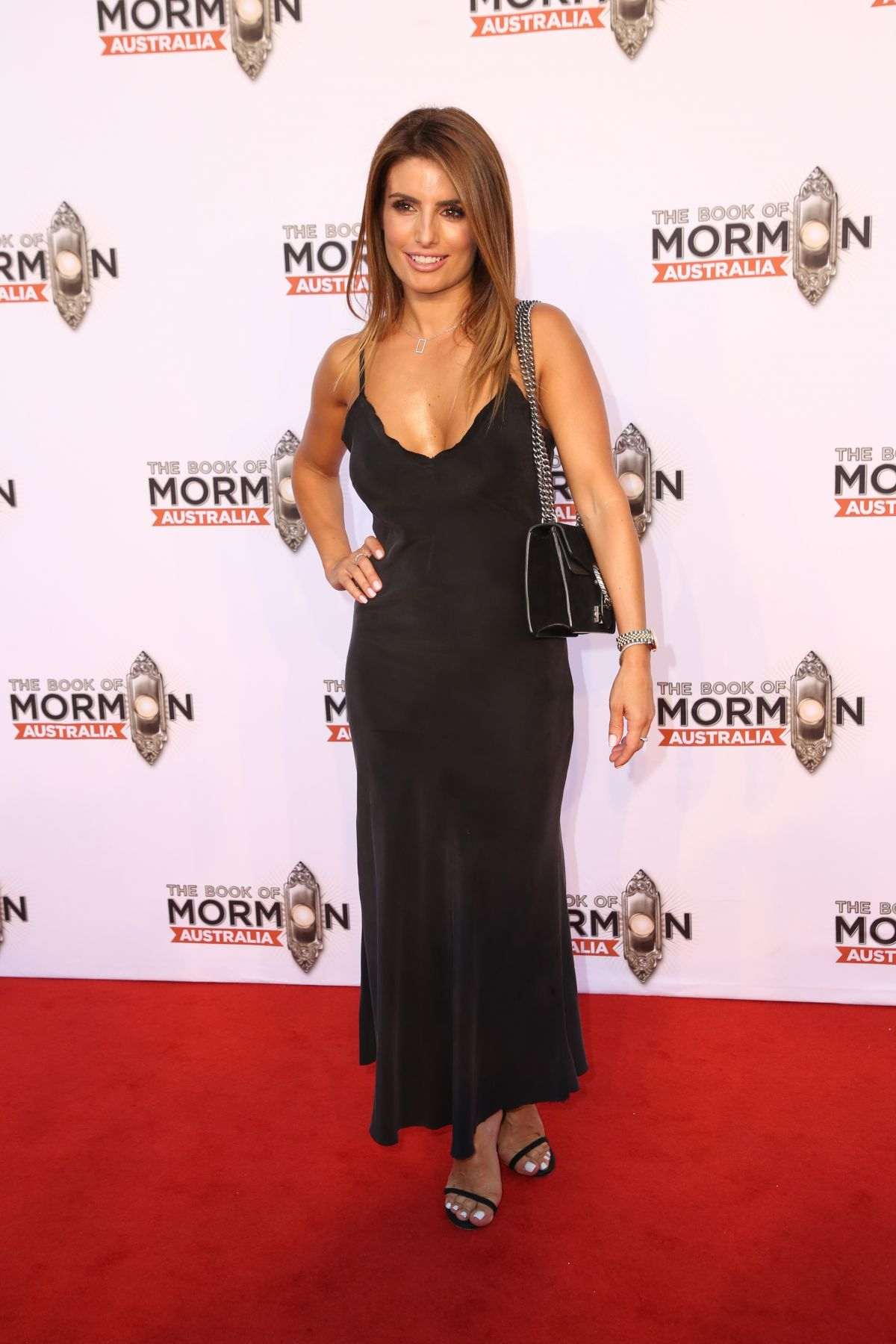 ADA NICODEMOU at The Book of Mormon Opening Night in