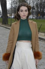 ADELAIDE KANE at Beautiful People Show at Paris Fashion Week 03/06/2018