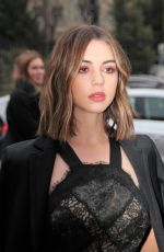 ADELAIDE KANE at Shiatzy Chen Fashion Show in Paris 03/05/2018