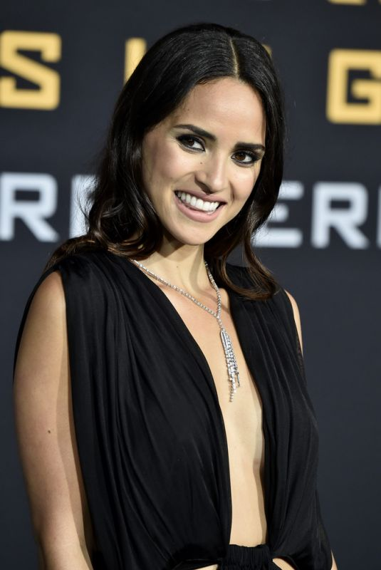 ADRIA ARJONA at Pacific Rim Uprising Premiere in Hollywood 03/21/2018