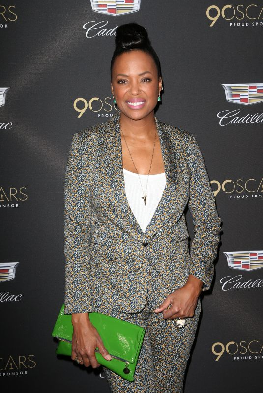 AISHA TYLER at Cadillac Oscar Celebration in Los Angeles 03/01/2018