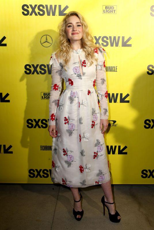AJ MICHALKA at Support the Girls Premiere at SXSW Festival ai Austin 03/09/2018