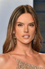 ALESSANDRA AMBROSIO at 2018 Vanity Fair Oscar Party in Beverly Hills 03/04/2018