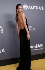 ALESSANDRA AMBROSIO at Amfar Gala 2018 in Hong Kong 03/26/2018