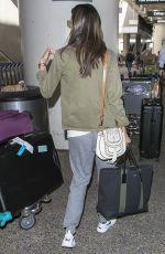 ALESSANDRA AMBROSIO at Los Angeles International Airport 03/28/2018