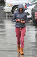 ALESSANDRA AMBROSIO Out in Los Angeles 03/02/2018