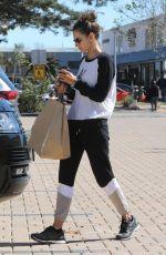 ALESSANDRA AMBROSIO Shopping at Malibu Lumber Yard Shopping Mall in Malibu 03/04/2018