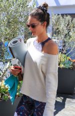 ALESSANDRA MABROSIO Leaves Pilates Class in Los Angeles 03/17/2018