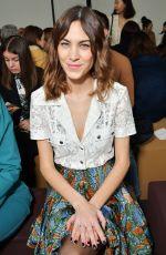ALEXA CHUNG at Chloe Show at Paris Fashion Week 03/01/2018