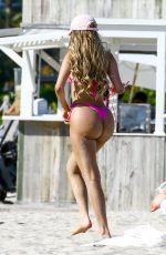ALEXA DELLANOS in Bikini at a Beach in Miami 03/26/2018