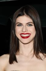 ALEXANDRA DADDARIO at Dior Addict Lacquer Pump Launch Party in West Hollywood 03/14/2018