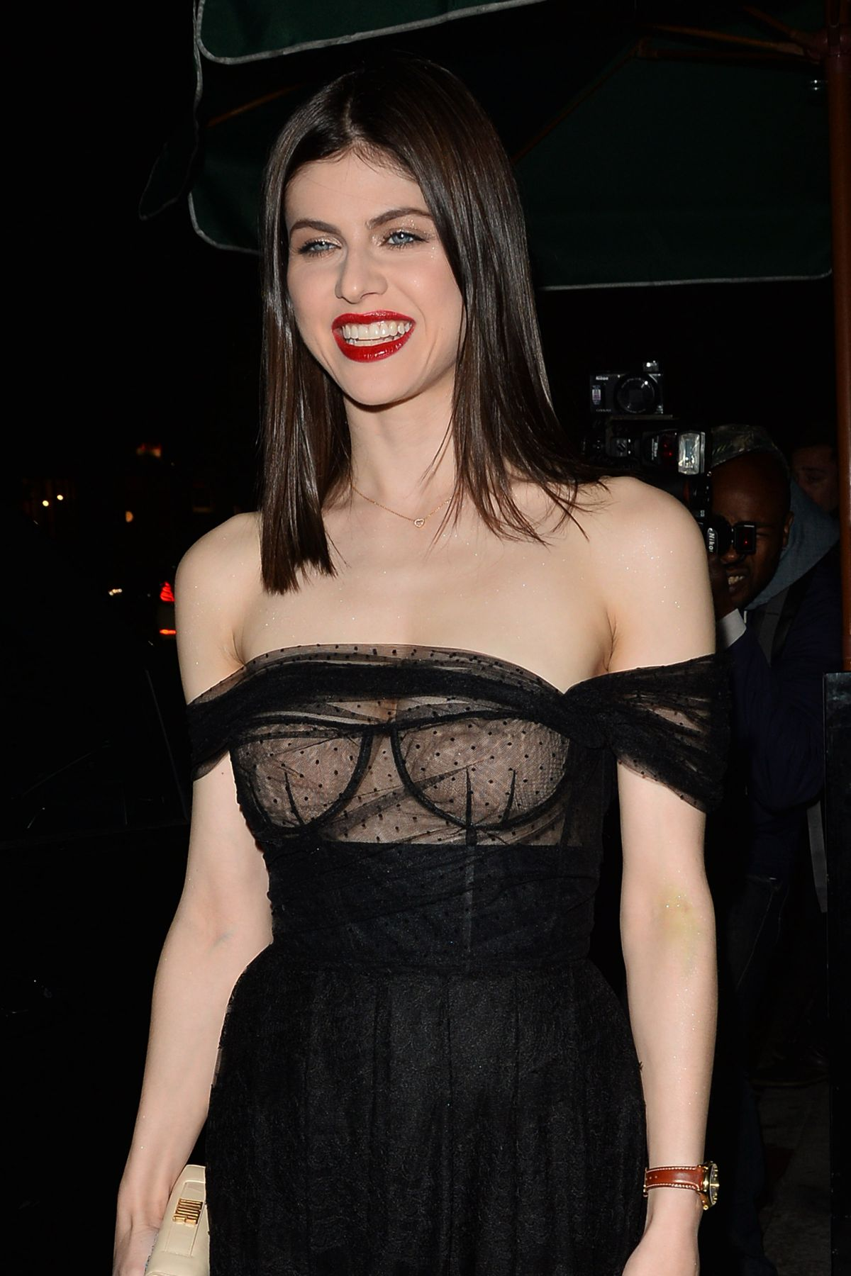 ALEXANDRA DADDARIO at Dior Addict Lacquer Pump Launch Party in ...