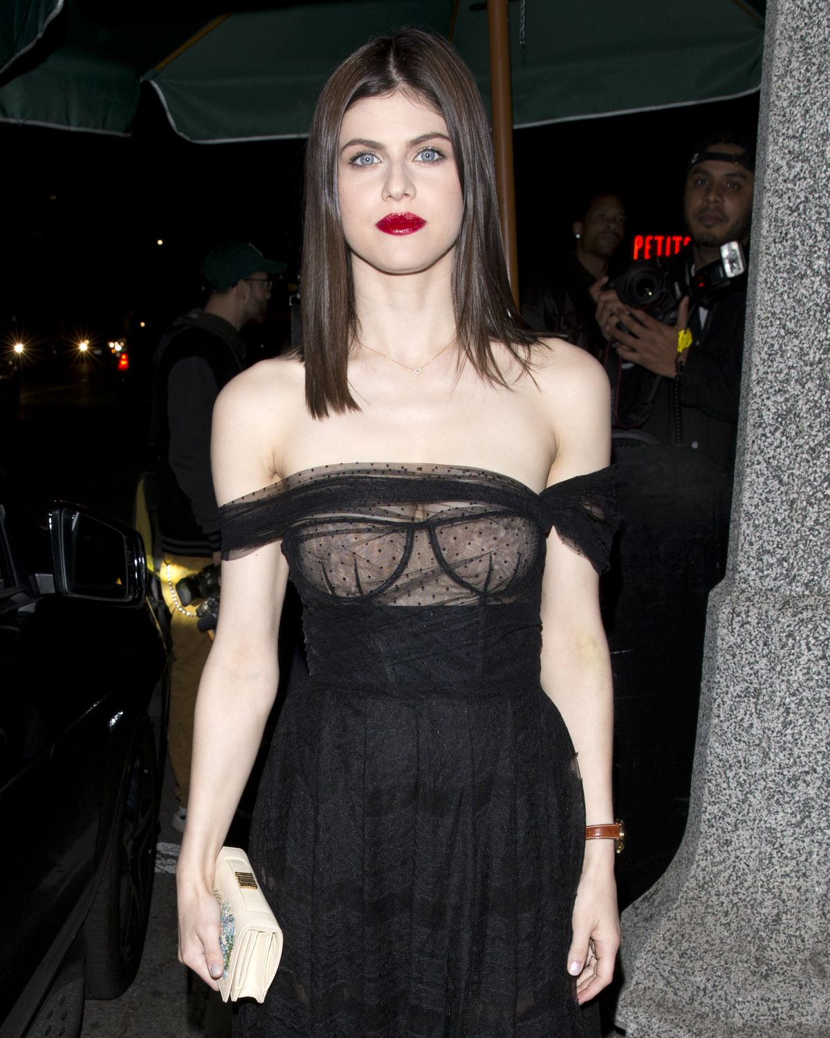 Alexandra Daddario At Dior Addict Lacquer Pump Launch Party In West Hollywood 03 14