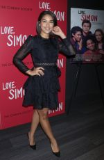 ALEXANDRA SHIPP at Love, Simon Premiere in New York 03/08/2018