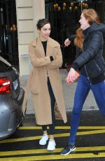 ALEXINA GRAHAM and LUMA GROTHE at Royal Monceau Hotel in Paris 03/27/2018