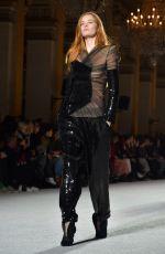 ALEXINA GRAHAM at Balmain Fashion Show at Paris Fashion Week 03/02/2018