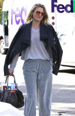 ALI LARTER Arrives at Gracias Madre in West Hollywood 03/05/2018