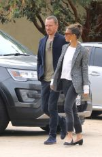 ALICIA VIKANDER and Michael Fassbender Out for Lunch at Soho House in Malibu 03/16/2018