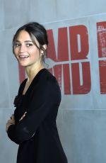 ALICIA VIKANDER at Tomb Raider