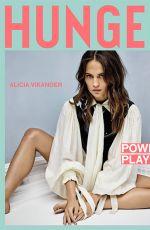 ALICIA VIKANDER for Hunger Magazine, March 2018