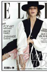 ALICIA VIKANDER in Elle Magazine, April 2018