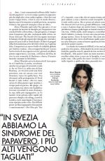 ALICIA VIKANDER in Elle Magazine Italy April 2018 Issue