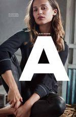 ALICIA VIKANDER in Elle Magazine, Mexico March 2018