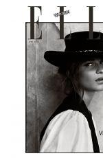ALICIA VIKANDER in Elle Magazine, UK April 2018 Issue