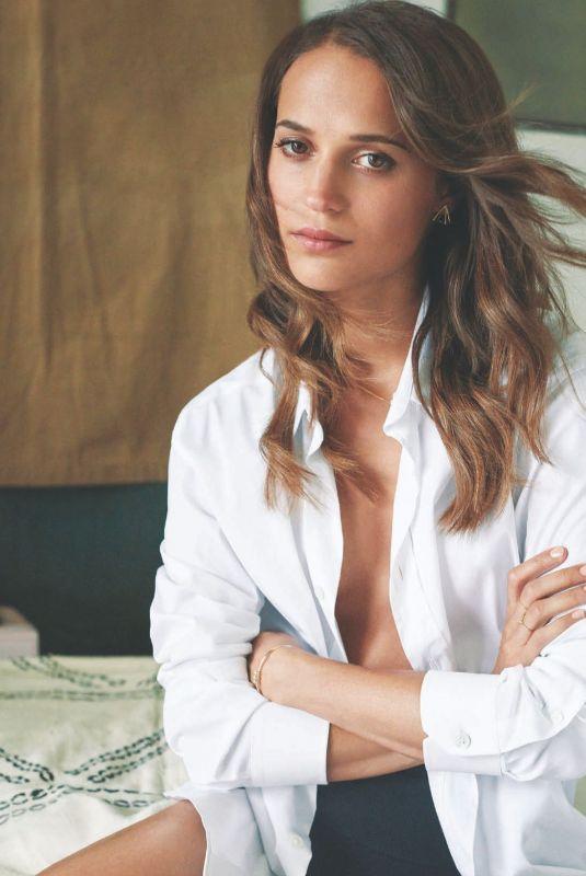 ALICIA VIKANDER in Rolling Stone Magazine, Mexico March 2018