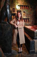 ALICIA VIKANDER Unveils Tomb Raider Escape Room in London 03/04/2018