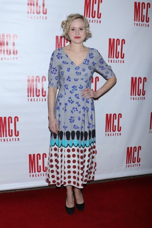 ALISON PILL at MCC Theater's Miscast Gala in New York 03/26/2018
