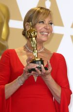 ALLISON JANNEY at 90th Annual Academy Awards in Hollywood 03/04/2018
