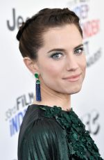 ALLISON WILLIAMS at 2018 Film Independent Spirit Awards in Los Angeles 03/03/2018
