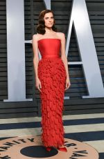 ALLISON WILLIAMS at 2018 Vanity Fair Oscar Party in Beverly Hills 03/04/2018