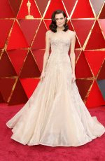 ALLISON WILLIAMS at 90th Annual Academy Awards in Hollywood 03/04/2018