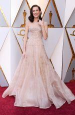 ALLISON WILLIAMS at Oscar 2018 in Los Angeles 03/04/2018