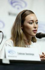 ALYCIA DEBNAM-CAREY at Fear the Walking Dead Panel at Wondercon 2018 in Anaheim 03/24/2018