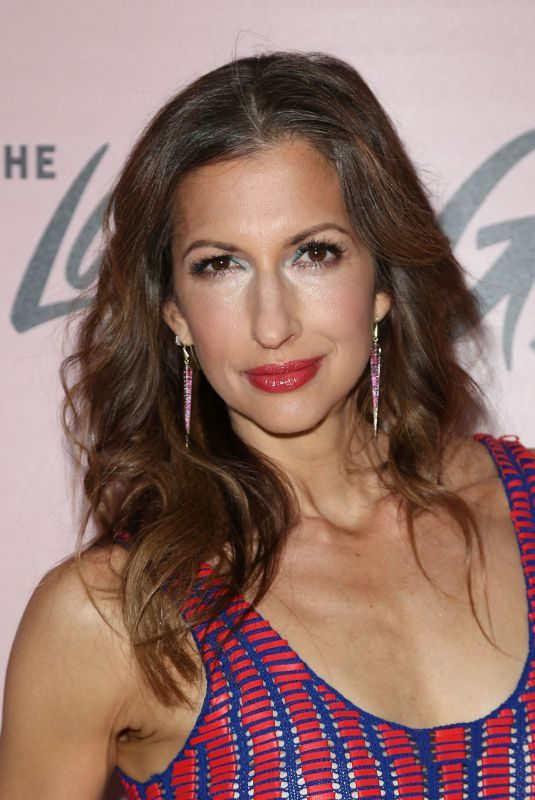 ALYSIA REINER at The Last O.G. Show Premiere in New York 03/29/2018