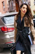 AMAL CLOONEY Out and About in New York 03/27/2018
