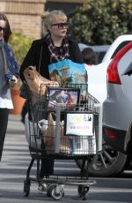 AMANDA BYNES Out Shopping in Santa Monica 03/19/2018