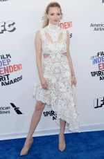AMANDA SEYFRIED at 2018 Film Independent Spirit Awards in Los Angeles 03/03/2018